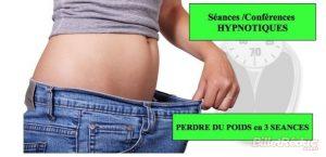 Perdre du poids en 3 séances Conférences hypnotiques