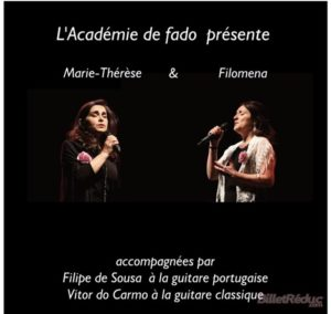 Soirée Fado : Filoména et Marie-Thérèse