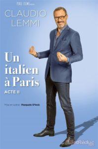 Claudio Lemmi dans Un Italien à Paris Acte II