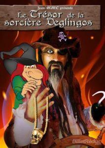 Le trésor de la sorcière Déglingos